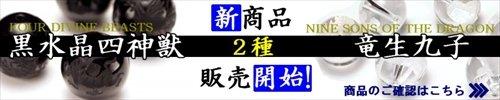黒水晶四神&竜生九子バナー